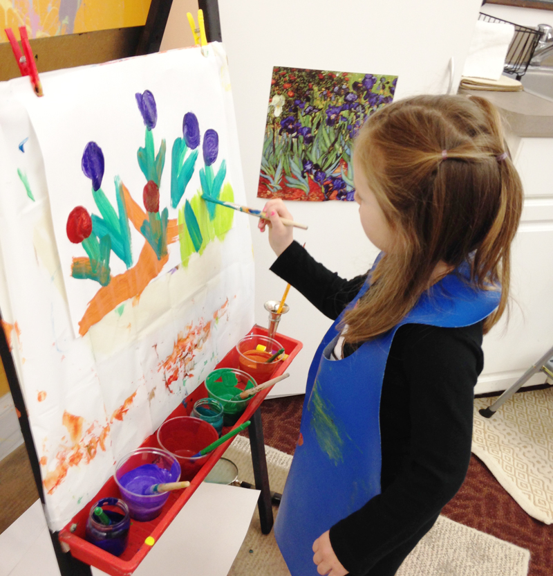 painting nashoba montessori kindergarten lancaster northborough ma