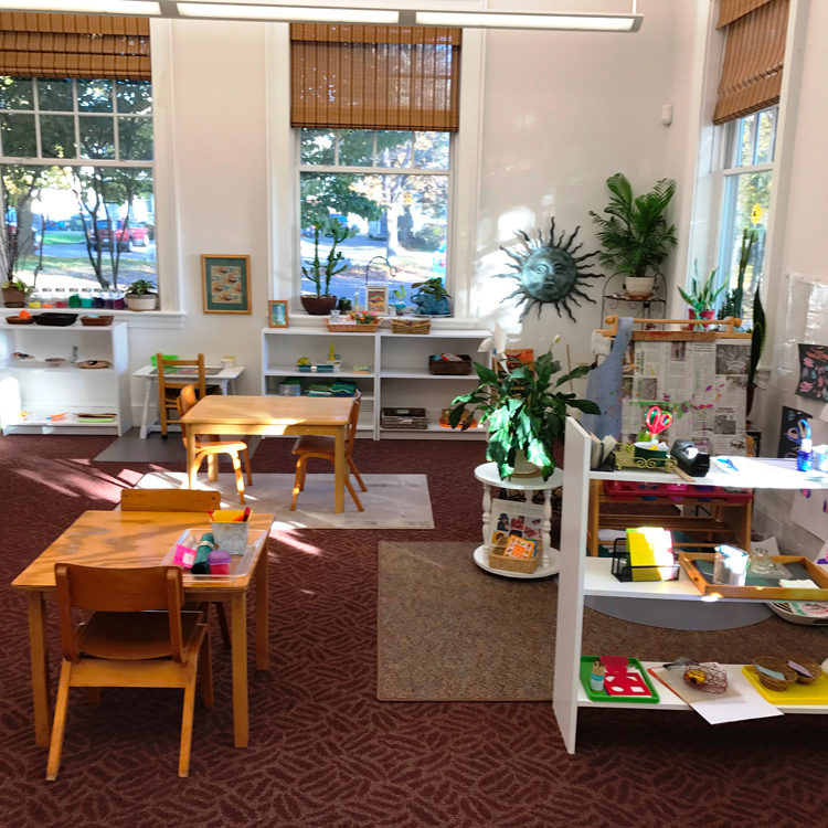 Classroom Montessori Preschool Lancaster Northborough Ma